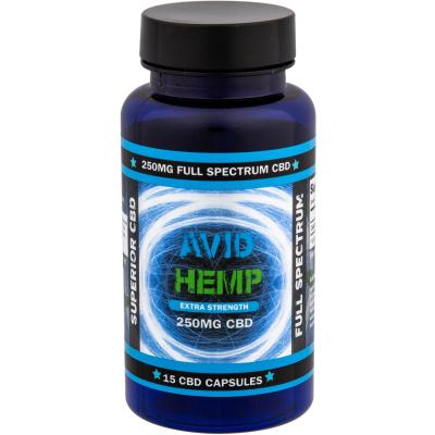 Avid Hemp CBD Capsules