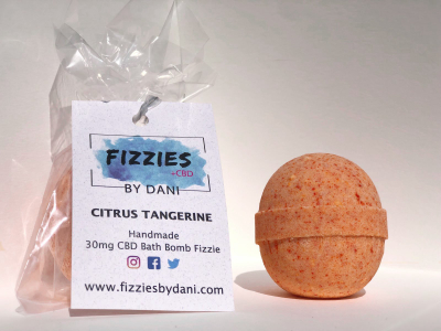 Fizzies+ 30mg CBD Bath Bomb