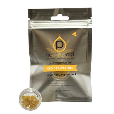 Hemp Lucid Dab Wax 200mg