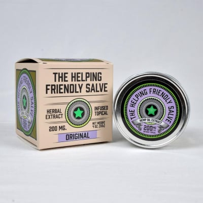 The Helping Friendly Salve 4oz