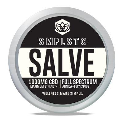 SMPLSTC Full-Spectrum CBD Salve 1000mg