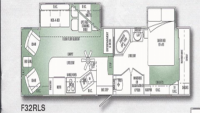 2002 Cameo 32RLS Floor Plan
