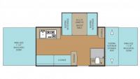 2016 Clipper 1285SST Floor Plan