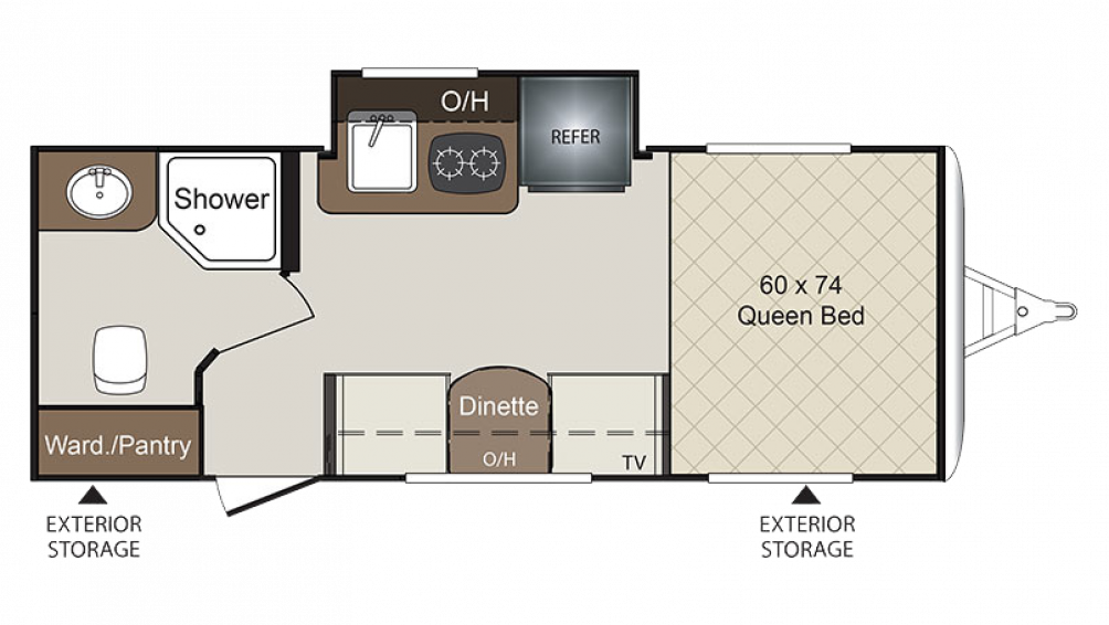 2018 Colt 172RBCT Floor Plan Img