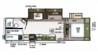 2019 Flagstaff Super Lite 527BHWS Floor Plan