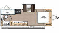 2020 Catalina Summit 212BHS Floor Plan