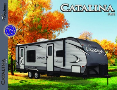 2017 Coachmen Catalina SBX RV Brand Brochure Cover