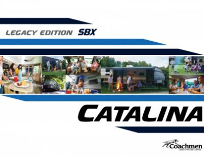 2019 Coachmen Catalina Legacy Edition RV Brochure Cover