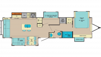 2019 Columbus Castaway 77MB Floor Plan