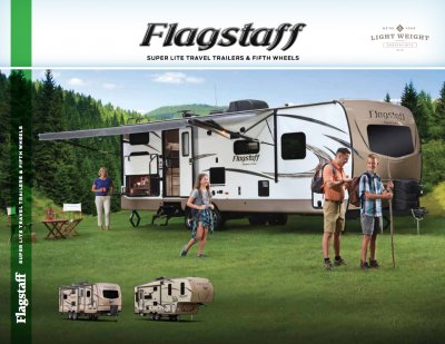 2018 Flagstaff Super Lite Brochure Cover
