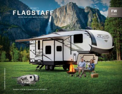 2019 Forest River Flagstaff Classic Super Lite RV Brochure Cover