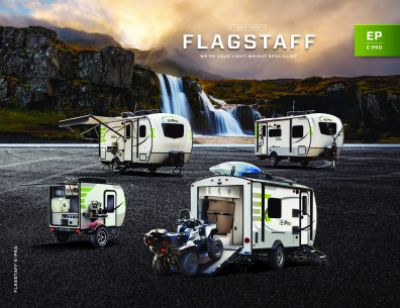 2019 Forest River Flagstaff E-Pro RV Brochure Cover