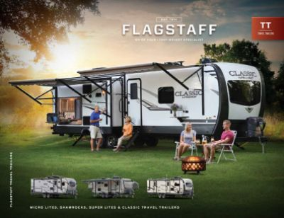 2019 Forest River Flagstaff Shamrock RV Brochure Cover