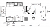 2019 Flagstaff Super Lite 29RSWS Floor Plan