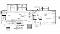 2019 Flagstaff Super Lite 528RKS Floor Plan