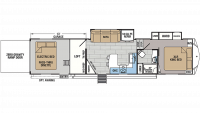 2019 XLR Thunderbolt 369AMP Floor Plan