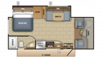 2018 Melbourne Prestige 24LP Floor Plan