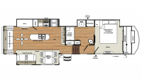 2018 Sierra 357RE Floor Plan