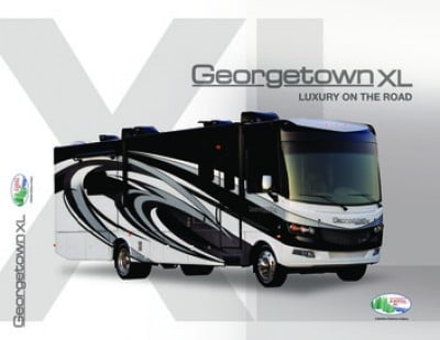 2017 Forest River Georgetown XL RV Brochure Cover