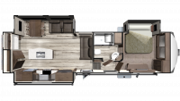 2019 Mesa Ridge MF313RKS Floor Plan