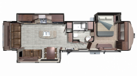 2019 Mesa Ridge MF314RLS Floor Plan
