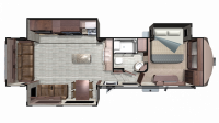 2019 Mesa Ridge MF348RLS Floor Plan