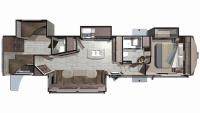 2019 Mesa Ridge MF374BHS Floor Plan