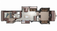 2019 Mesa Ridge MF376FBH Floor Plan