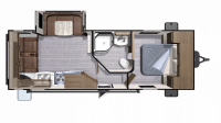 2019 Mesa Ridge Lite MR2410RL Floor Plan