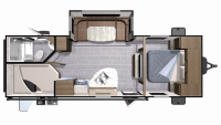 2019 Mesa Ridge Lite MR2504BH Floor Plan