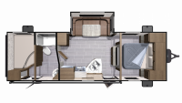 2019 Mesa Ridge Lite MR2510BH Floor Plan