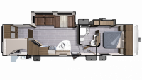 2019 Mesa Ridge Lite MF2950BH Floor Plan