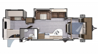 2019 Mesa Ridge Lite MR3110BH Floor Plan
