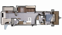 2019 Mesa Ridge Lite MR3310BH Floor Plan