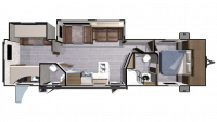 2018 Mesa Ridge Lite MR3310BH Floor Plan