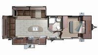 2019 Mesa Ridge MR272RLS Floor Plan
