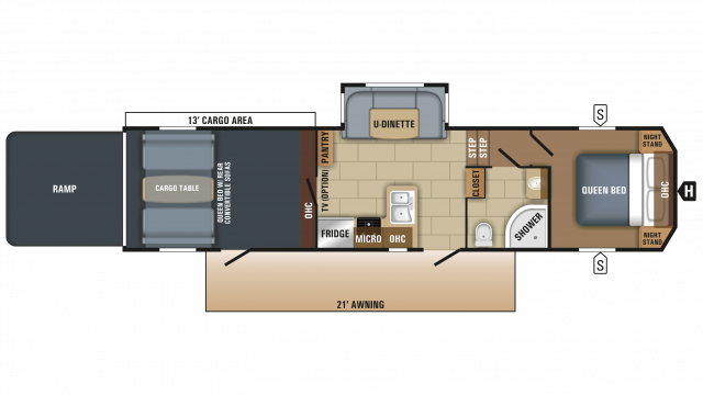2018 Talon 313T Floor Plan