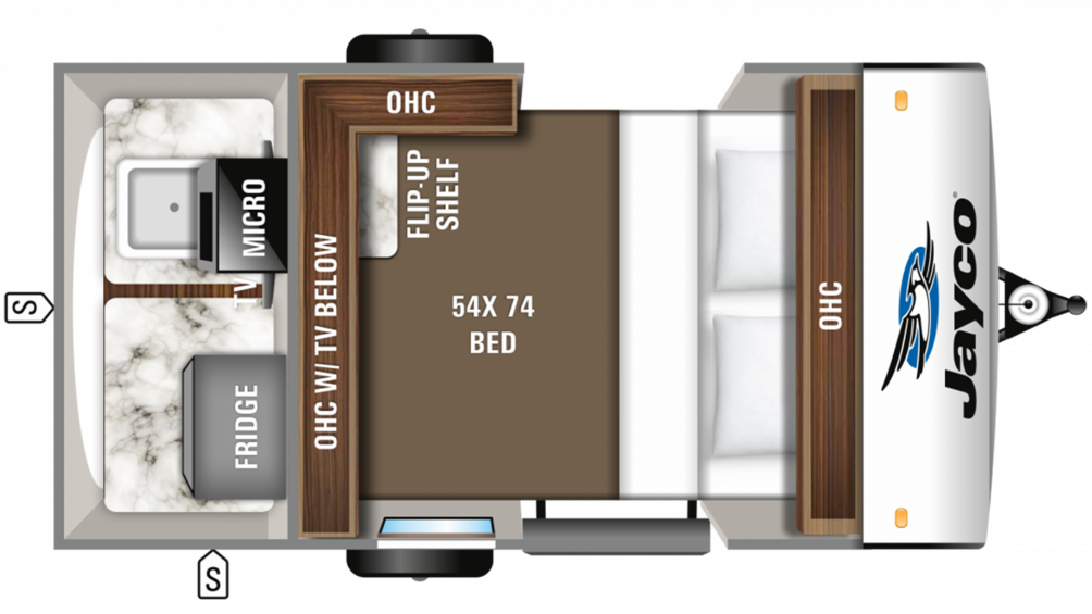 2019 Hummingbird 10RK Floor Plan Img