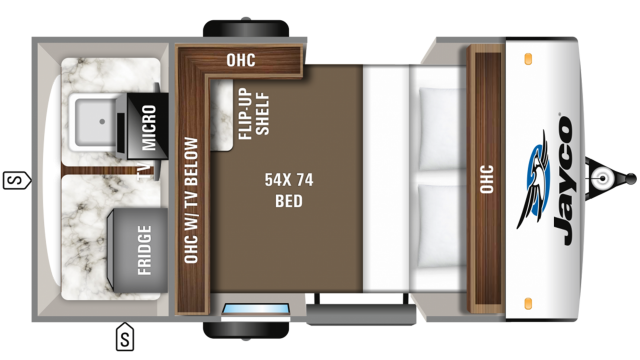 2019 Hummingbird 10RK Floor Plan
