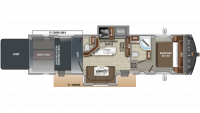 2019 Talon 413T Floor Plan