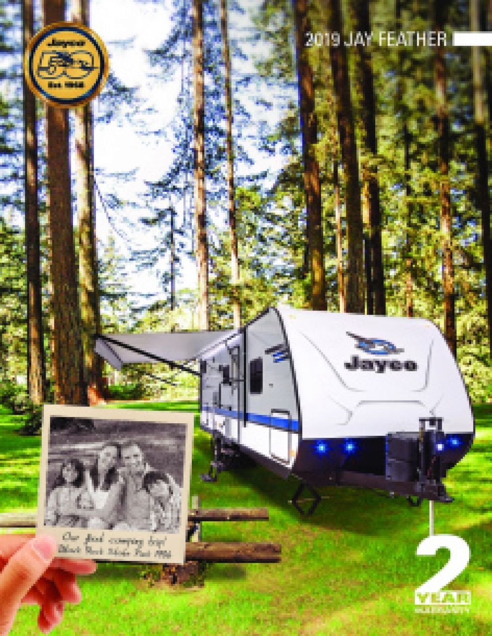 2019 Jayco Jay Feather RV Brochure Cover