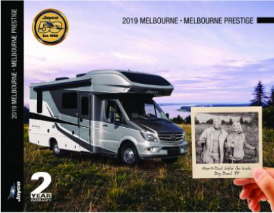 2019 Jayco Melbourne RV Brochure Cover