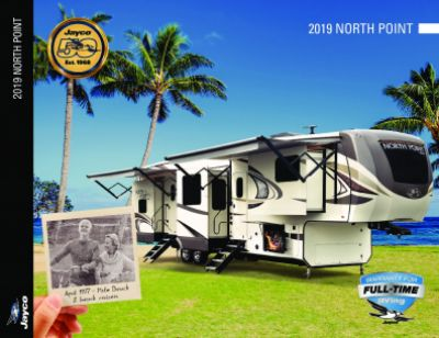 2019 Jayco North Point RV Brochure Cover