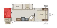 Rear Bath Floor Plan