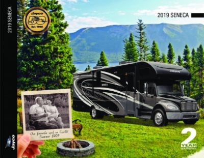 2019 Jayco Seneca RV Brochure Cover
