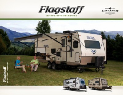2017 Forest River Flagstaff Micro Lite RV Brand Brochure Cover