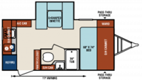 2017 Sonic 167VMS Floor Plan