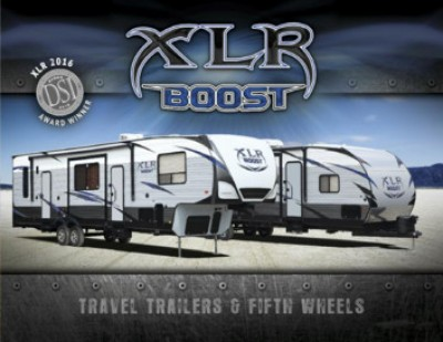 2017 Forest River XLR Boost RV Brand Brochure Cover