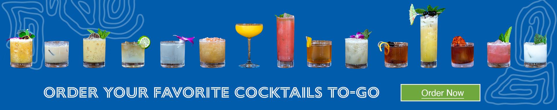 Order Your Favorite Cocktails
