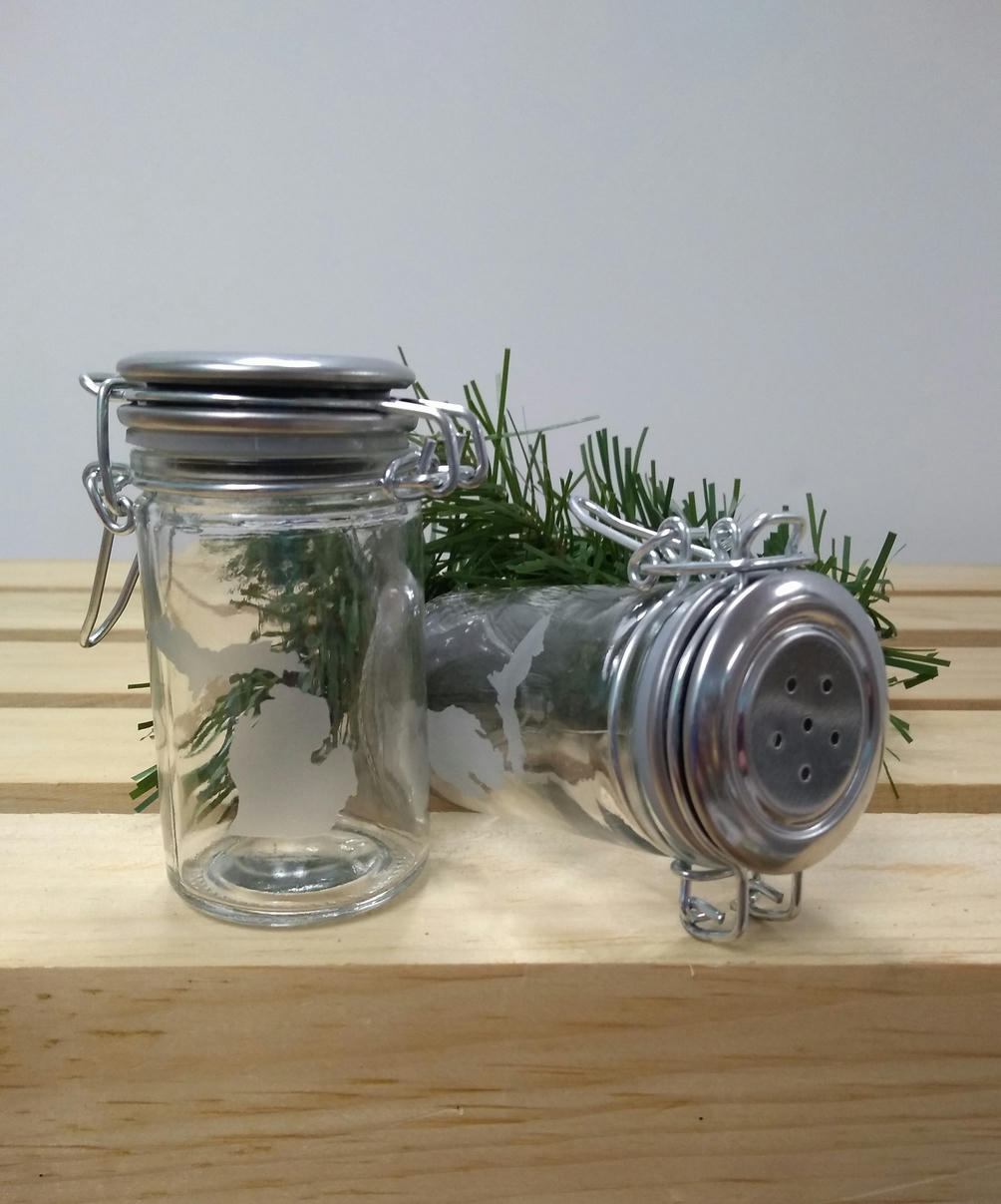 michigan-themed-items-etched-salt-and-pepper-shakers